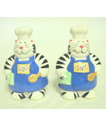 Cat Chef Salt & Pepper Shakers Coco Dowley - $26.72