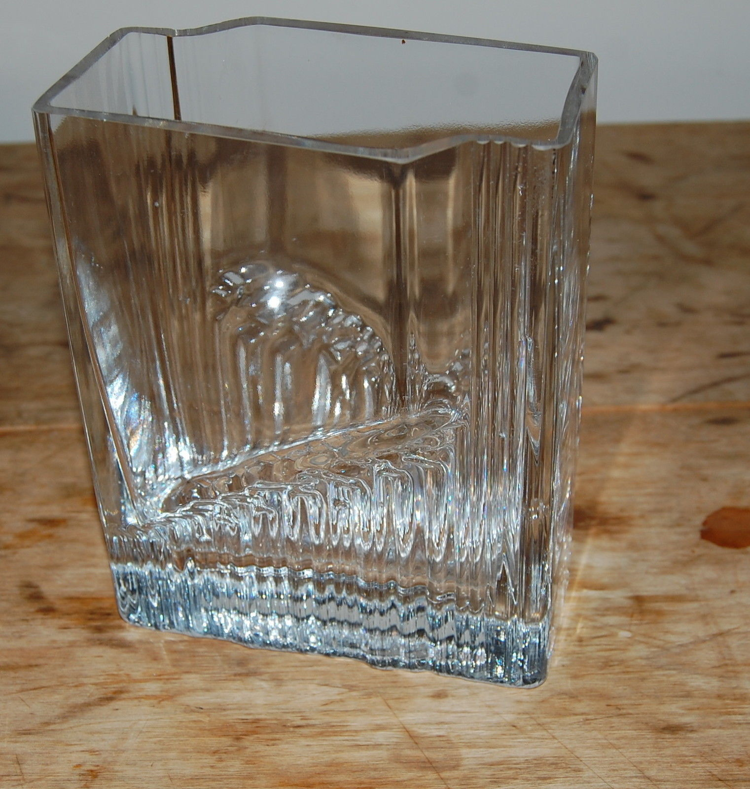 iittala finland tapio wirkkala sointu sound pattern glass vase other scandinavian art glass. Black Bedroom Furniture Sets. Home Design Ideas