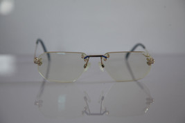 COLLECTION 2000 Eyewear, Gold Rimless Frame,  RX-Able Prescription Lens.... - $21.04