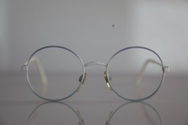 Vintage MENRAD Eyewear, White/ Blue Frame. Germany - $15.59