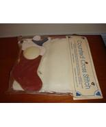 Frame Work Stocking~Christmas Stocking Cross Stitch Kit - $12.99