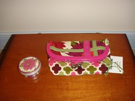Vera Bradley Hello Dahlia Please Hold And Sugar Free Mints - $30.99