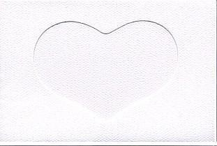 5586 white heart needlework card