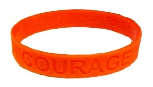 RSD/CRPS Lot of 50 Orange Awareness Bracelets Silicone Cause Wristbands New