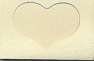 5593 ivory heart opening large needlework card