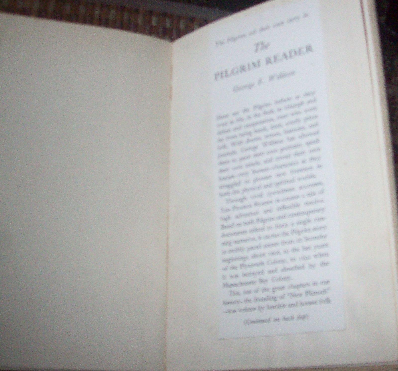 The Pilgrim Reader by George F. Willison 1953 HB