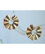 Avon Art Moderne Goldtone Earrings - $12.95