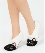 Charter Club Womens Cat Slipper Socks Ivory S/M - NWT - $9.49
