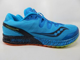 Saucony Freedom ISO Size 12 M (D) EU 46.5 Men's Running Shoes Blue S20355-3