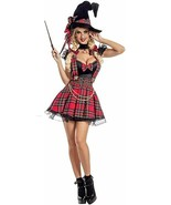 Party King Magic School Dropout Witch Adult Womens Halloween Costume PK2012 - $77.64