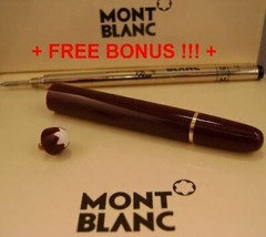 Replacement spare Parts Pen Barrel for Montblanc 163 Burgundy & Gold + B... - $62.59