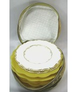 FULL SET 12 Vintage ROYAL DOULTON CHINA RICHELIEU H4957 Bread Plate Stor... - $53.84