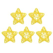 (02)5pcs 6cm Lovely Rattan Star Ball DIY Hanging Ornaments Xmas Birthday... - $14.00