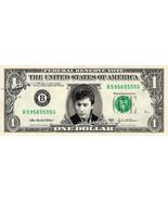 ALAIN BASHUNG on a REAL Dollar Bill Cash Money Collectible Memorabilia Celebrity - $8.88