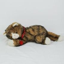 Vintage 1992 Nick & Noel Calico Cat Plush Stuffed Animal Toys R Us Commonwealth - $39.99