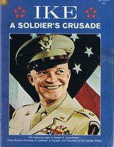 Ike A Soldier's Crusade Dwight D Eisenhower ORIGINAL Vintage 1969 Magazine - $19.79