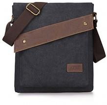 S-ZONE Vintage Lightweight Small Canvas Messenger Bag Travel Shoulder Crossbody - $66.12