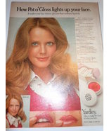 Vintage Yardley Print Magazine Advertisement 1972  Pot'o  Gloss - $5.99