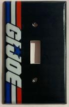Gi Joe Logo Light Switch Duplex Outlet wall Cover Plate Home Decor
