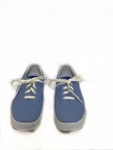 Keds Stretch Women's Blue Canvas Lace Up Sneaker Shoes Size 8.5 - $26.24 CAD