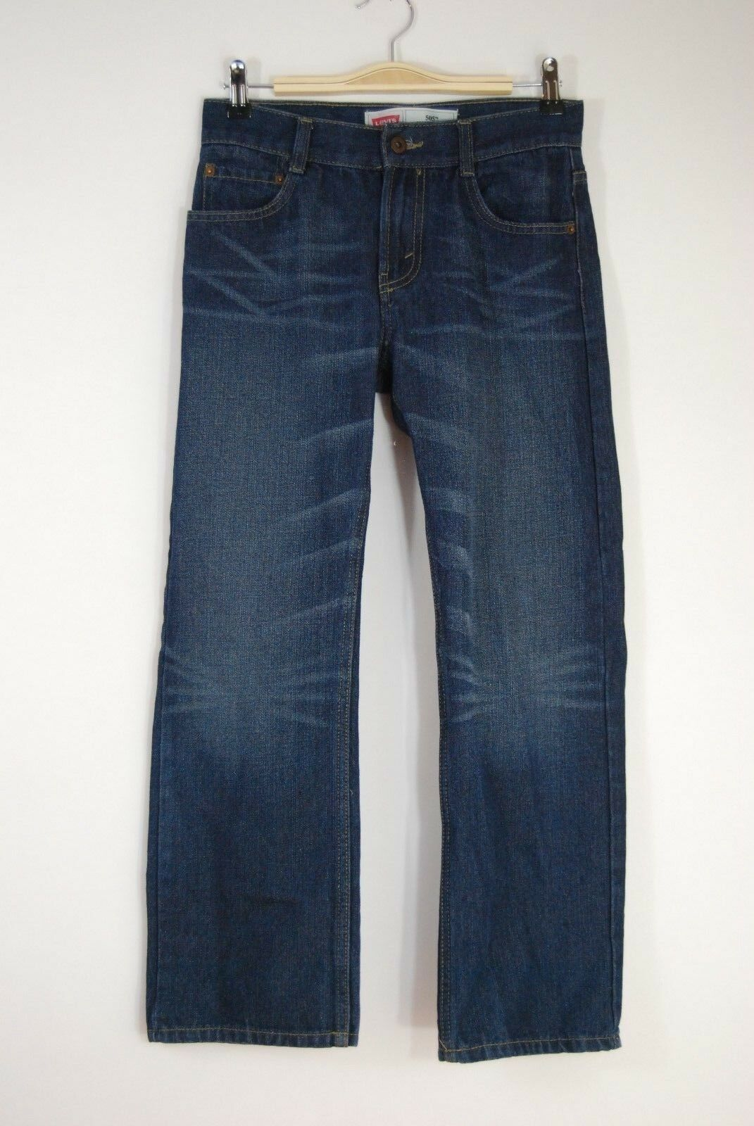 Primary image for Boy's Levi's 505 Straight - 14R (27x27) - Actual 27x26