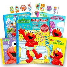 Sesame Street Elmo Potty Training Book Set --  Potty Coloring and Activi... - $11.40