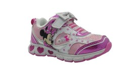 NWT Disney Minnie Mouse Athletic Girls Sneakers Size 12 - $22.99