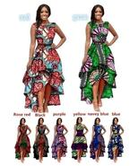 2018 African Women's Fashion  Printed Party Dress - $51.95