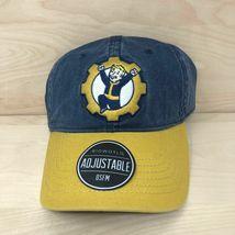 Fallout 76 Vault Boy Baseball Cap Adjustable Hat Brand New Bethesda Biow... - $19.79