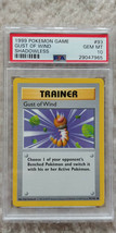 Pokemon Gust of Wind 93/102 Shadowless Base Set PSA 10 1999 Pokemon TCG ... - $34.99