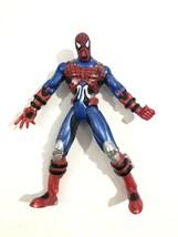 1097 Toybiz Marvel Spiderman Stark Tech Suit? VG T3 - $21.38
