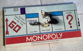Monopoly Board Game Original Parker Brothers Edition - $19.57