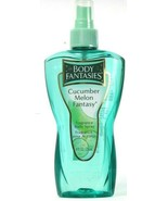 1 Bottles Body Fantasies Cucumber Melon Fantasy Fragrance Body Spray 8Fl oz - $18.99