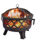Landmann Wood Firepit Sarasota Garden Lights Outdoor Patio Deck Fireplace  - $141.12