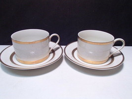 2 Mikasa Antique Lace Cups & Saucers ~~ - $9.99