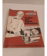 Briggs & Stratton Service And Repair Instructions - $16.82