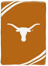 Texas Longhorns Ncaa Soft Northwest Throw Blanket University Of Tx 60 In X 80 In - $52.95