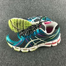 Womens Size 7 Asics Gel Kayano 19 Blue Athletic Sneakers - $29.69