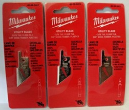 Milwaukee 48-08-0423 Utility Blade For Job Saw Handle Only (3 Packs) - $4.01