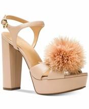 MICHAEL Michael Kors womens Fara Platform Sandals size 9M Color Oyster h... - $70.58
