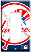 New Baseball Mlb New York Yankees Logo Single Gfi Light Switch Wall Plate Cover - $8.99