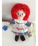 """8"""" Raggedy Ann Doll By Applause With Tags NOS - €13,31 EUR"""