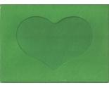 5592 christmas green heart opening needlework card thumb155 crop