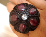 Ebony ruby aquamarine ring thumb155 crop