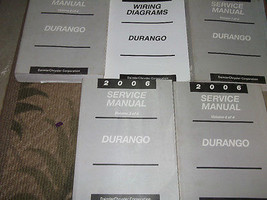 2006 DODGE DURANGO Service Repair Shop Manual Set W ELECTRICAL WIRING DI... - $346.45