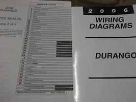 2006 DODGE DURANGO Service Repair Shop Manual Set W ELECTRICAL WIRING DIAGRAM image 2