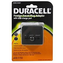Duracell Foreign Travel Plug Adapter with USB Charge Port - €11,26 EUR