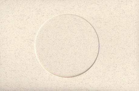 Parchment Round Small Needlework Cards 3.5x5.5 cross stitch
