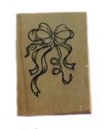 Rubber Wood Stamp Stamping Crafting Ribbon PSX B-705 - $9.89
