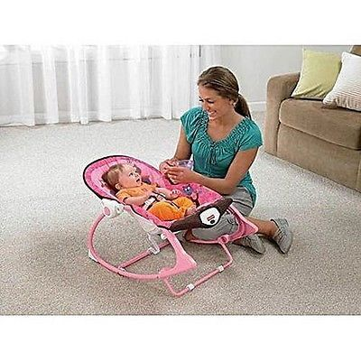 Baby Musical Swing Chair  Sleeper Infant Seat Pink